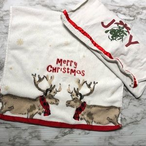 Other - Christmas lot tea towels